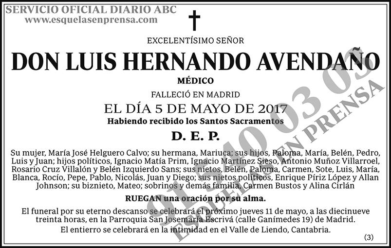 Luis Hernando Avedaño